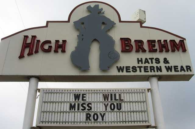 Roy High from High Brehm Hats